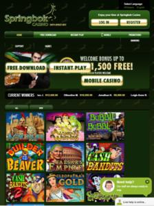 Spring book casino