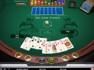online pai gow poker table