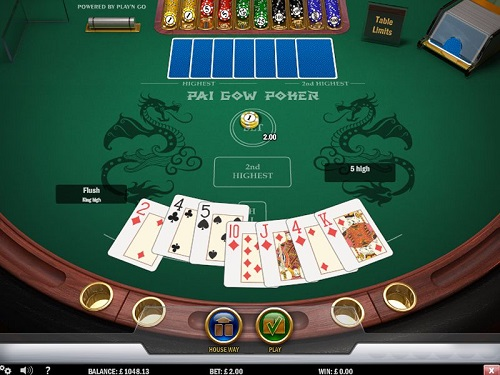 image of pai gow poker tips