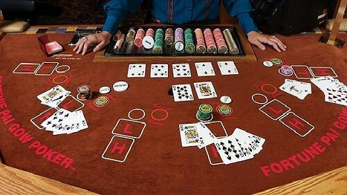 image of pai gow poker table rules