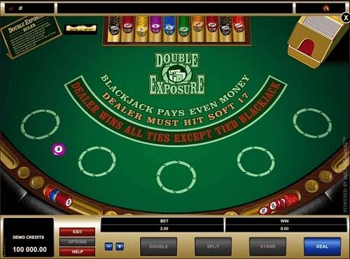 image of double exposure blackjack top SA casinos
