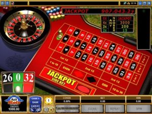 image of royale roulette table online