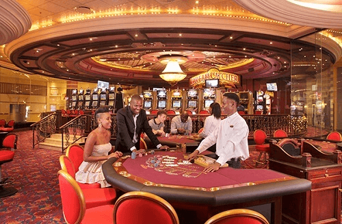 image of graceland casino interior table game