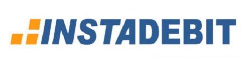 image of instadebit logo online casino banking
