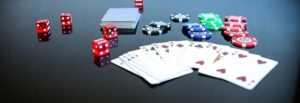 image of casino cards and chips real money casinos south africa