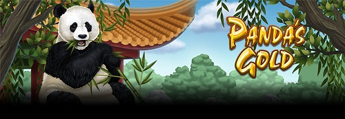 panda's gold slot game title image