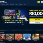 image of punt casino lobby top SA online casinos reviews