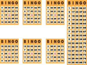 bingo card online bingo