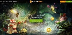image of casino.com top SA online casino