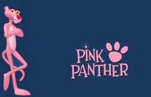 pink panther slot game title image
