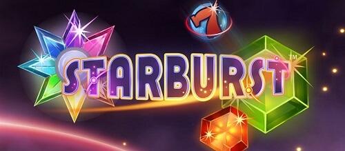 starburst slot game title image