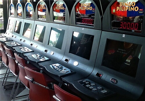 image of electronic bingo centre