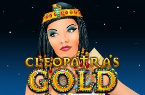 cleopatra's gold slot game title image