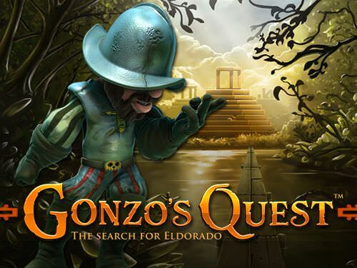 image of gonzo's quest slot game main image