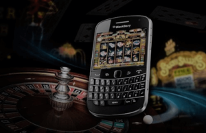image of blackberry casino mobile phone