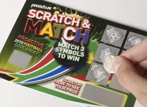 image of paper scratch card online scratch cards SA