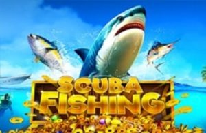 scuba fishing slot game title image