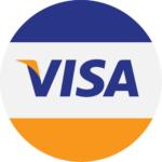 image of visa logo credit card casino