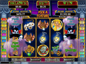 count spectacular slot game reels top rtg game