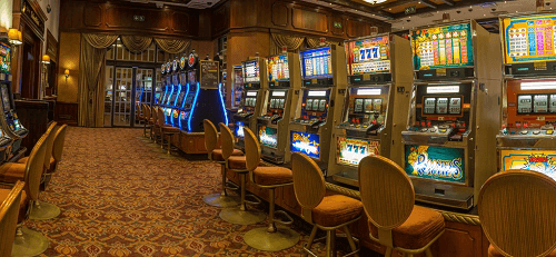 image of frontier inn casino interior