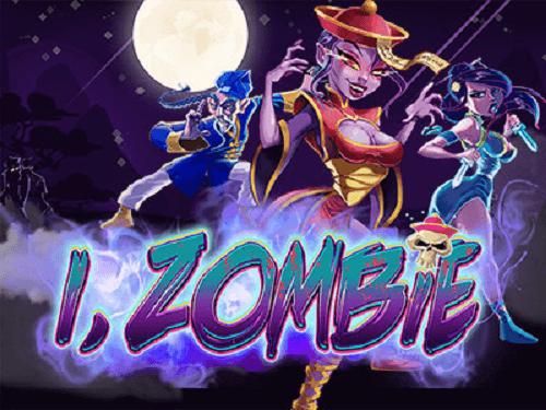 i zombie slot game title image