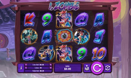 image of i zombie slot game realtime gaming