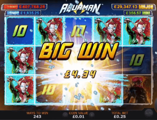 Aquaman Slot Review