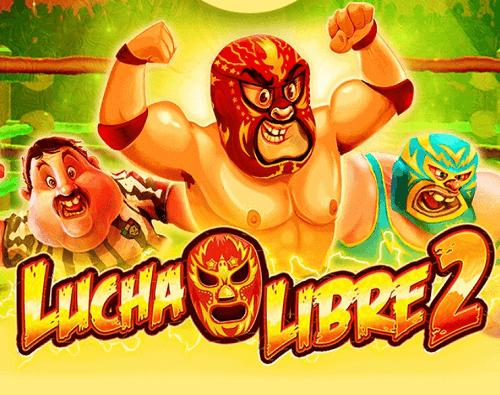 lucha libre 2 slot game title image