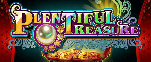 plentiful treasure realtime gaming slot game title image