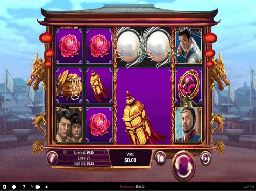 Wu Zetian slot game reels