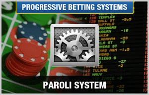 paroli betting system with gears and casino chips