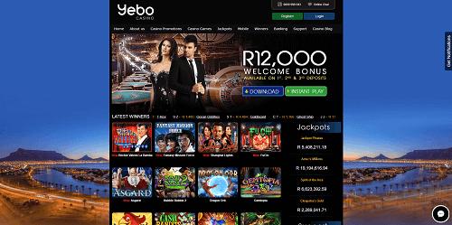 yebo casino lobby top SA online casino